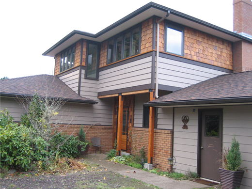 Residential project: After Addition and Remodel. Corvallis